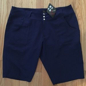 Jofit Women's Golf Shorts, Size 12, Navy Blue, NWT